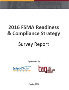 FSMA Readiness and Compliance Strategy Survey Report