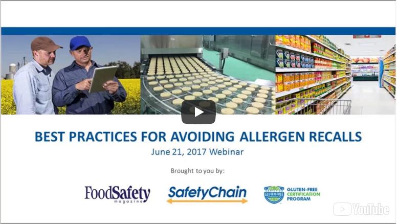 webinar title allergens