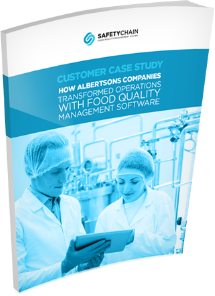 Customer Case Study Albertsons Companies - SafetyChain Software