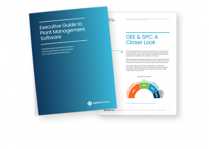 SafetyChain Executive Guide to Plant Management Software